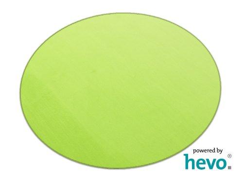 Romeo grün HEVO® Teppich | Kinderteppich | Spielteppich 200 cm Ø Rund