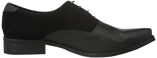 Shoe the Bear Annika, Chaussures à Lacets Femme Noir (Black)