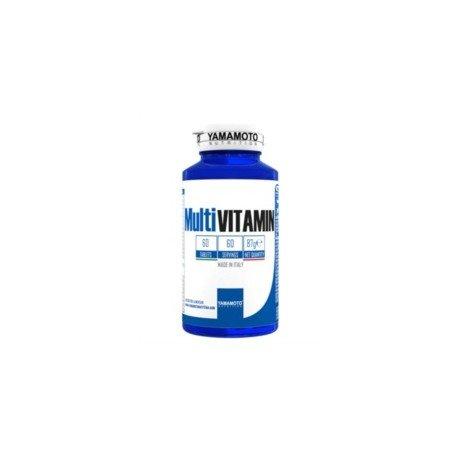 Yamamoto nutrition multi vitamin integratore alimentare multivitaminico ad ampio spettro con minerali 60 compresse