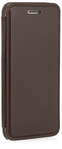 StilGut® Book Type Case, Hülle aus Leder für Apple iPhone 6 (4.7'') iPhone 6 (4.7'') schwarz Acajou - Nappa