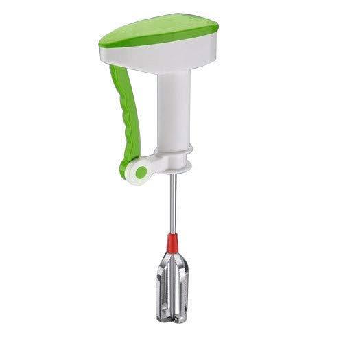 Arura Hand Blender Power-Free Hand Blender and Beater with High Speed Operation Utensil Kitchen ware Curd Maker Free Hand Blender for Egg&Cream Beater,Milkshake, Lassi, Butter Milk Mixer {Color-Multi}