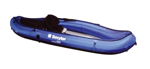 Sevylor Rio - Kayak sit on top (1 persona), color azul, talla 300 x 93 cm