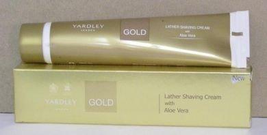Yardley London Lather Shaving Cream Gold 91g by Yardley