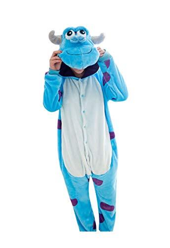 Anguang Animal Style Kigurumi Pyjama Unisexe Adulte Anime Pyjamas Onesie Cospaly Fête Costume...