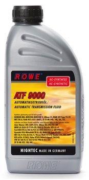 Getriebeöl ATF 9000, für Automatikgetriebe und Servolenkung auf HC-Synthese-Basis, 1 Liter by ROWE