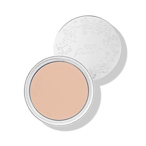 100% pure cosmétique naturel Fruit pigmen Ted Cream Foundation - Alpine Rose, Net Wt. 0,32 oz/9 g