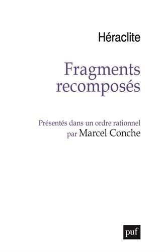 Fragments recomposés présentés dans un ordre rationnel