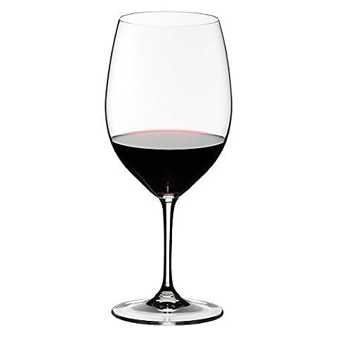 Riedel Lot de 2 Verres à Vins Vinum 6416/0 Bordeaux