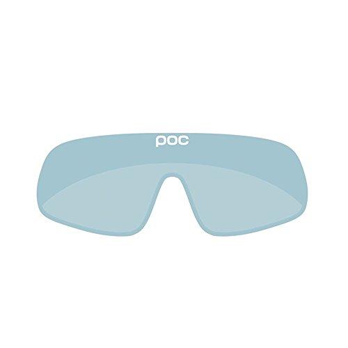 POC Crave Sonnenbrille Unisex Erwachsene Einheitsgröße Blau (Light Blue/Electric Mirror 24.8)