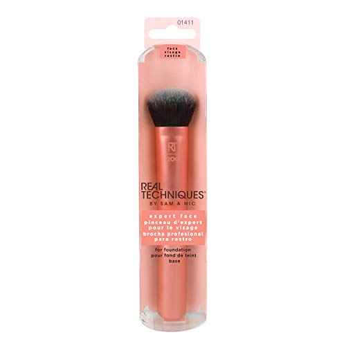 Real Techniques 1411M Expert Face Brush Gesichtspinsel, 1er Pack (1 x 1 Stück)