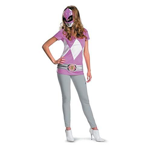 Power Ranger Rosa Kostüm - Generique - Power Rangers Kostüm für Damen rosa Einheitsgröße