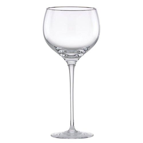 Lenox Solitaire Platinum Signature Crystal Weinglas Wine Glass farblos Lenox Ensemble
