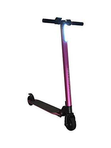Helliot Design Alma Elektro-Scooter klappbar Unisex Erwachsene, Unisex-Erwachsene, PatineteAlmaRosa, Rosa, Einheitsgröße