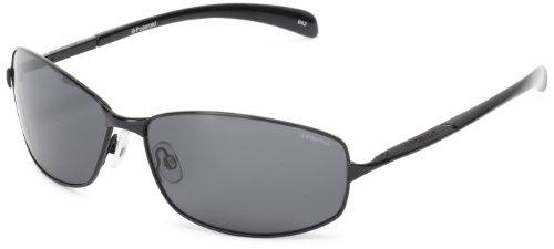 Polaroid - P4126 - Sonnenbrille Herren Rechteckig - Metallrahmen - Polarisiert - Schutzkasten inklusiv