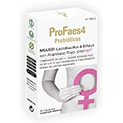 Profaes4 probioticos Mujer, 30capsulas
