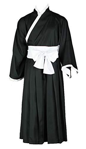 Kostüm Ichigo Shinigami - Chong Seng CHIUS Cosplay Costume Kurosaki Ichigo Shinigami Black Male Kimono Version 2
