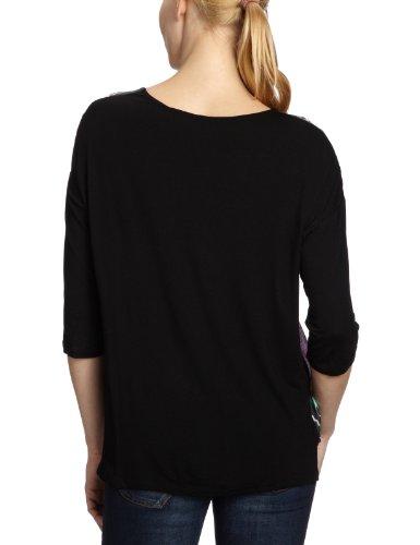 Desigual Damen Bluse, 27B2L01 Schwarz (Negro 2000)