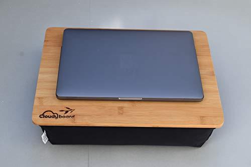 modernes Laptray Knietablett Laptopkissen mit stabilem Bambus