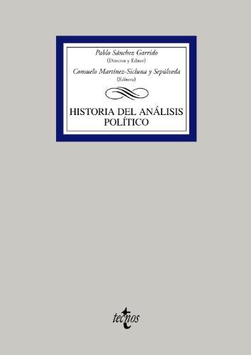 Historia del análisis político (Derecho - Biblioteca Universitaria De Editorial Tecnos)