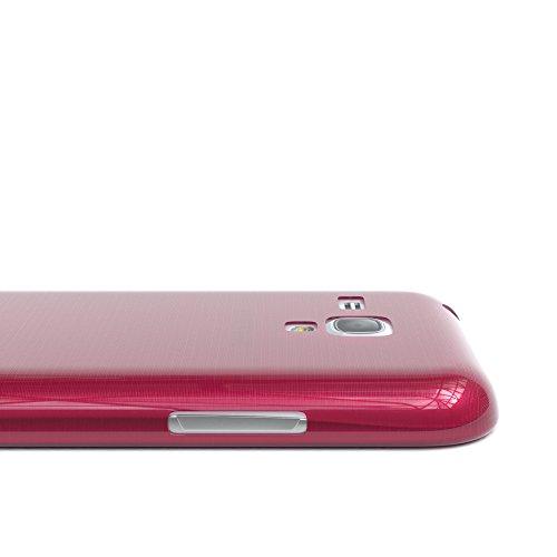 Samsung Galaxy S3 Mini Hülle - EAZY CASE Ultra Slim TPU Handyhülle - dünne Schutzhülle in Hellblau Brushed Pink