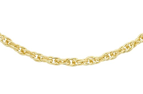 Carissima Gold Collana Prince of Wales in Oro Giallo 18ct (750) - Unisex - 46cm