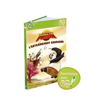 LeapFrog - TAG - Livre : Kung Fu Panda - L'entraînement Gourmand (Dreamworks)