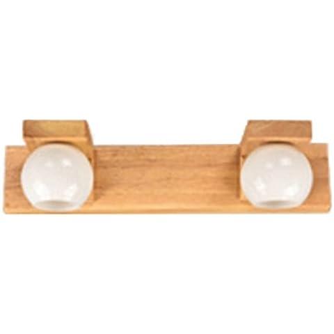 PRIDE S Moderna in legno massiccio specchio