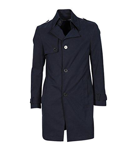 drykorn herren mantel Drykorn Herren Mantel Skopje aus Baumwolle Navy 31 Navy 98