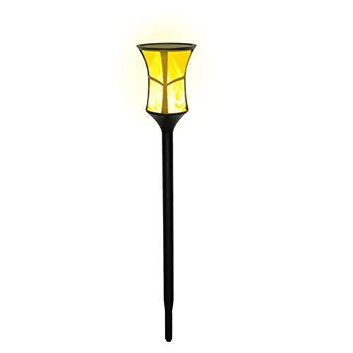 Runningfish Solar-Rasenleuchten, 37LM LED-Flammenlampen beleuchtet IP65 Wasserdichte Landschafts-Dekorationslicht-Garten-Landschafts-Yard-Pfad