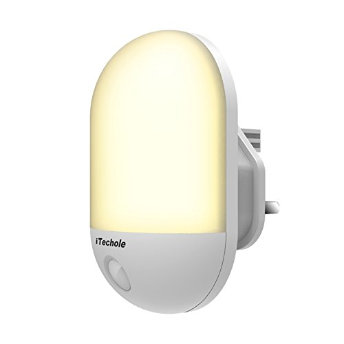 LED Night Light, iTechole Plug-and-Play Automatic Wall Lights with Dusk to Dawn Photocell Sensor, Night Lamp Lighting for Babyroom, Kids, Children's room, Nurseries, Stair, Hallway, etc-Warm White ean 0693805502505 kaufen auf Amazon.co.uk ab £8.99