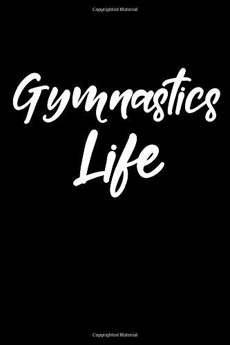 Gymnastics Life: Blank Lined Journal College Rule Script Font por Sportslo Notebooks