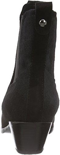 Giudecca JY1524A-1 Damen Chelsea Boots Schwarz (Black)