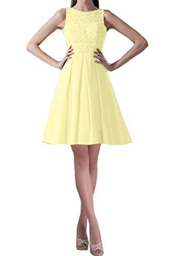 Missdressy Elegant Chiffon Lang Tuell Aermellos Abendkleider Partykleider Ballkleider Festkleider Beige-1
