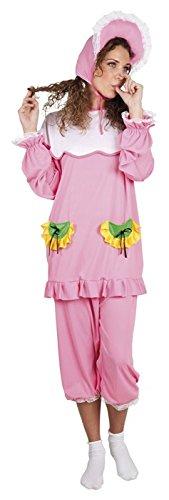 KBO83849 Gr. M/L Babykostüm rosa für Mädels oder auch für Jungs! (Heiße Halloween Kostüme Für Jungs)