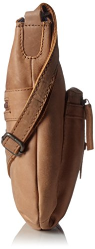 Spikes & Sparrow - Crossover Bag, Borse a tracolla Donna Beige (Camel)