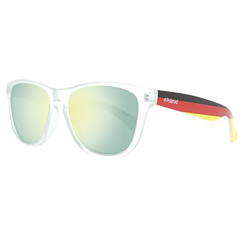 Polaroid Unisex-Erwachsene S8443-CWY Sonnenbrille, Mehrfarbig (Crygrmflg), 55