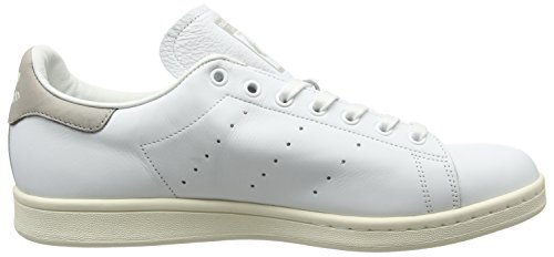 Adidas Unisex-erwachsene Stan Smith Sneaker Weiß (calzature Bianco / Calzature Bianco / Granito Chiaro)
