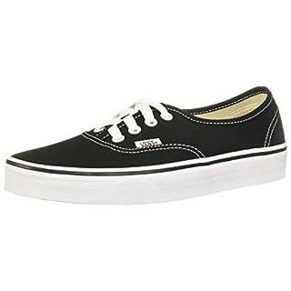 Vans AUTHENTIC, Unisex-Erwachsene Sneakers, Schwarz (Schwarz/Weiß), 46 EU