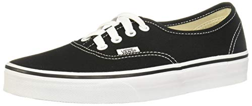 Vans Authentic, Sneaker Unisex – Adulto, Nero (Black/White), 38 EU