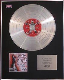 Limp Bizkit–Limited Edition CD Platinum disc- Drei Dollar $ Bill Motiv Faultier