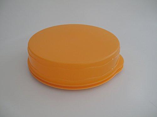 TUPPERWARE Junge Welle Kuchenform rund orange Kuchen Form Tortenbehälter Torty