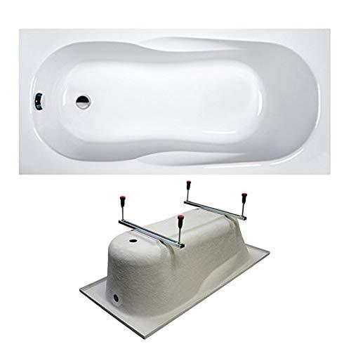 Sanplast Rechteck Badewanne Wanne Acryl 150x70 cm mit Füße