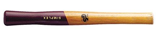 SIMPLEX-hochwertiger Holzstiel, für SIMPLEX-Schonhämmer mit Stahlguss- oder Aluminiumgehäuse | Ø=80 mm | 3244.080