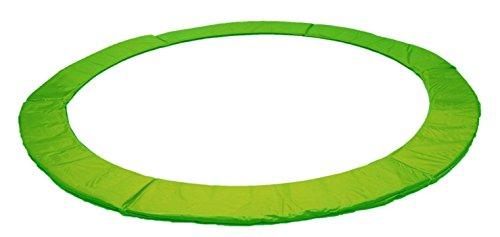 Izzy Trampolin Federabdeckung 30 cm breit - Ø 365 366 cm, PVC reißfest, 100{083d57d888bd62eb785d917bd277702b46fb6b6e347ea4d4c591219262ebd35c} UV-beständig, grün, Randabdeckung, Randpolsterung, Randschutz, Umrandungsmatte (grün, 365)
