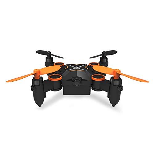Cqu HELIWAY 901H Mini tragbare Faltbare 4-Achsen-Quadrocopter-Drohne mit Fernbedienung, Unterstützung for kopflosen Modus und konstantem Luftdruck (Farbe : Orange)