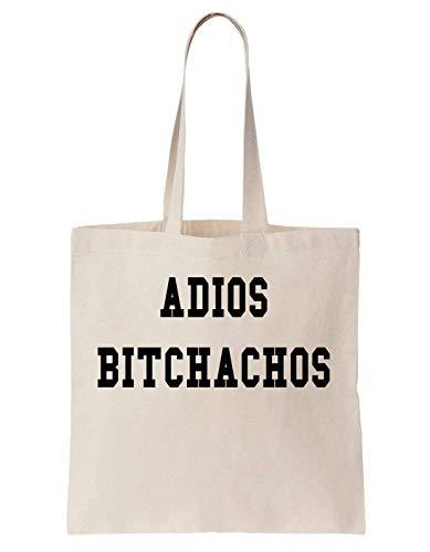 eec29e911ffc KRISSY Adios Bitchachos Funny Alfa Male Summer Fest Borsa di tela Bag