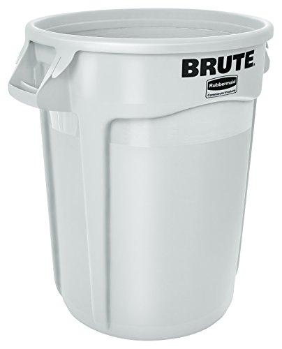 Rubbermaid Mehrzweck-Behälter - Inhalt 75 Liter - weiß - Konischer Behälter Kunststoffbehälter Kunststoffstapelbehälter Mehrweg-Behälter Mehrzweckbox Mehrzweckboxen Kunststoff-Sstapelbehälter - Bild 1