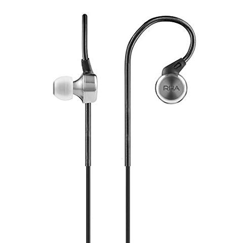 RHA MA750 Noise Isolating In-Ear Headphone - 3 year