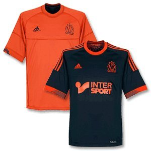 Adidas om 3 jsy noir orange homme maillot de football Adidas T:XL