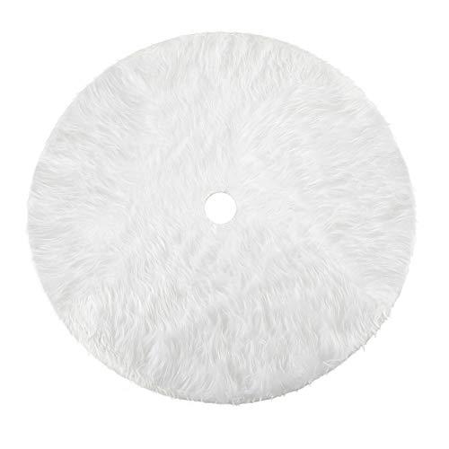 Howaf Faldas arbol Navidad 31 Pulgada Piel sintética